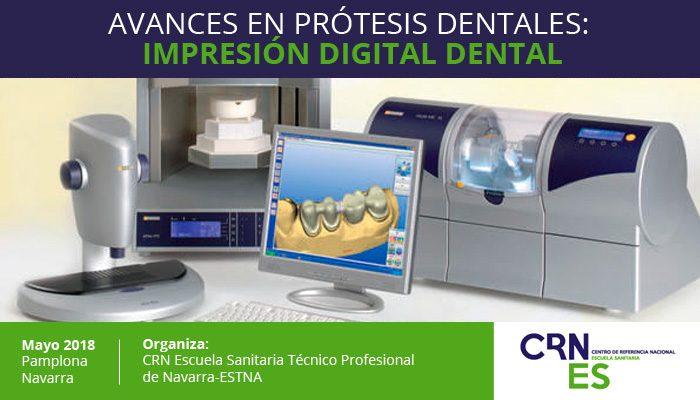 Jornada técnica sobre Avances en prótesis dentales: impresión digital dental