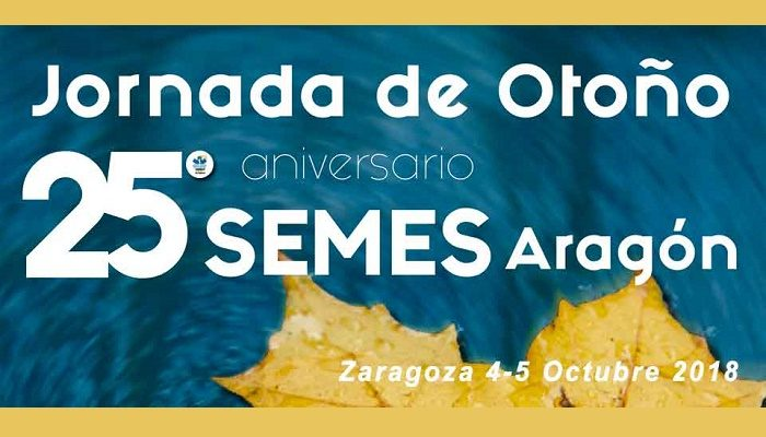 Jornada de otoño SEMES Aragón 25º aniversario