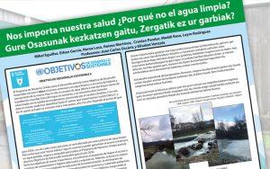 Mancoeduca se hace eco en sus redes sociales de un póster realizado por alumnado de Salud Ambiental